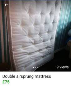 Airsprung pocket double mattress