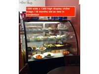 SOLD!!!!Free Standing Display Fridge / Chiller Glass Fronted