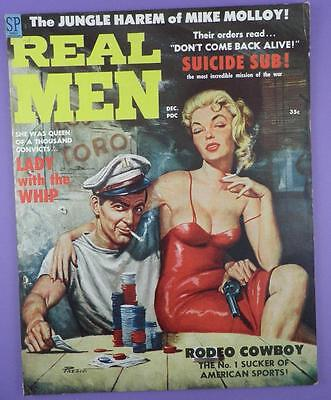 Rugged Men Pulp Magazine December 1958 Vol 3 No. 6 - Original Unused Stock Item!