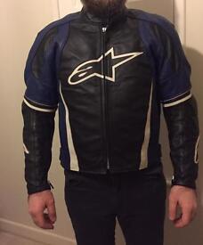 AlpineStars leather jacket.