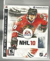 JEU  NHL  2010   (PS3)