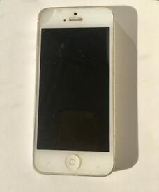 Silver Apple iPhone 5 32GB