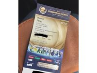 Icc champion trophy final ticket