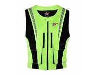 motorcycle motorbike hi viz visibility vest waistcoat