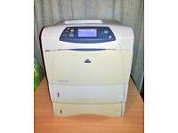 HP LaserJet 4350dtn Mono Laser Printer - Duplex and Networked