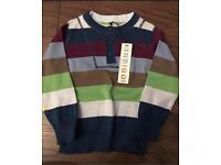 SOLD Boys striped M&S jumper