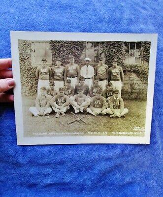 (1934 AMERICAN FOUNDRY EQUIPMENT CO, MISHAWAKA, IN - Employee Baseball Team)