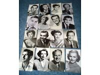 OLD MOVIE STARS signed photographs
