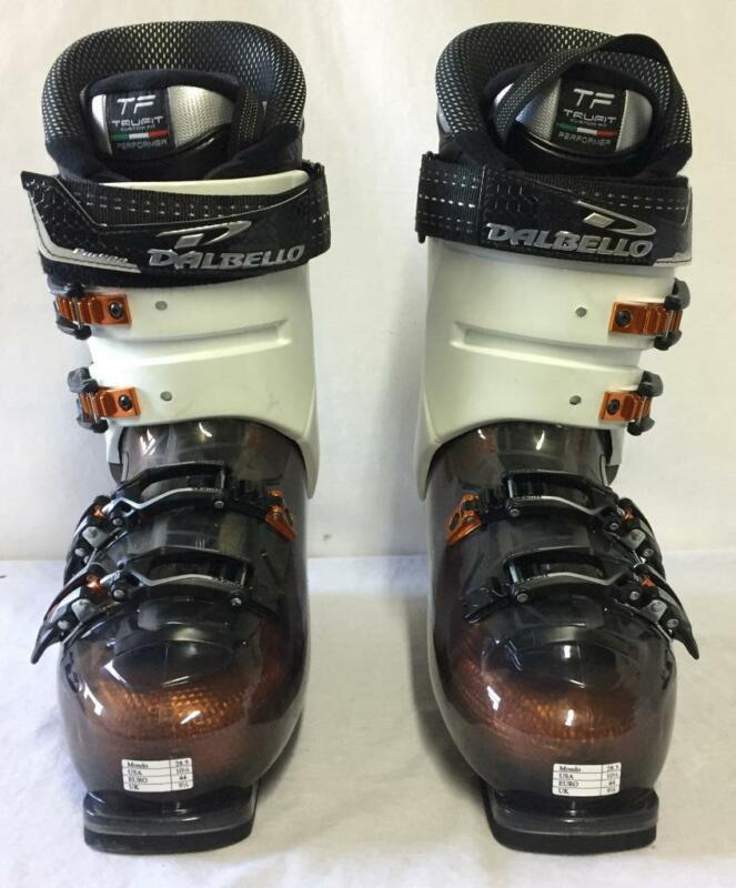 Dalbello Men's Venom 90 Downhill Snow Ski Boots Black White Mondo 28.5 NEW