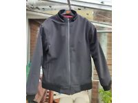 City of Leather Hard shell motorcycle jacket with armour (bomber-style) (XXL)
