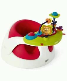 Baby seat - Mamas Papas Snug seat with tray!