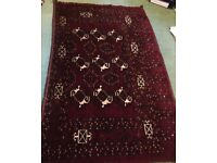 Hand Made Wool Rug 170cm x 100cm