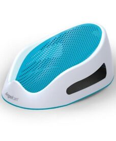 Angelcare Soft Touch Newborn Baby Childrens Bath Support Ergonomically Designed Bath Seat - Blue