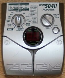 Zoom 504 II acoustic effects pedal
