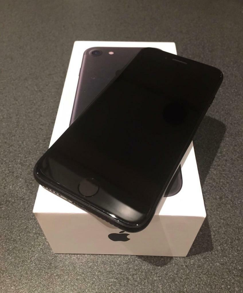"Used Apple iPhone 7, 4.7"", Unlocked, 128GB, Black 
