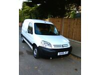 2008 CITREON BERLINGO VAN SIDE LOADING DOOR VERY GOOD CONDITION LONG MOT LOW MILEAGE DRIVES PERFECT