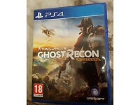 PS4 Ghost Recon Wildlands in mint condition like new
