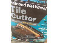 Diamond electric tile cutter