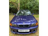 2003 BMW E46 3 Series Clubsport, automatic.
