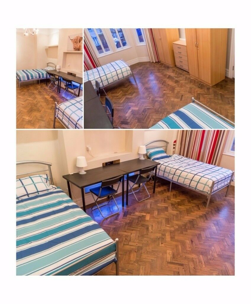 J*/DOUBLE ROOM FOR FRIENDS** EALING BROADWAY** HIGH STANDARDS PROPERTY