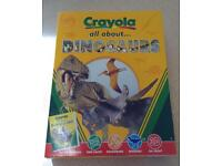 NEW Crayola all about ... DINOSAURS Activity Set
