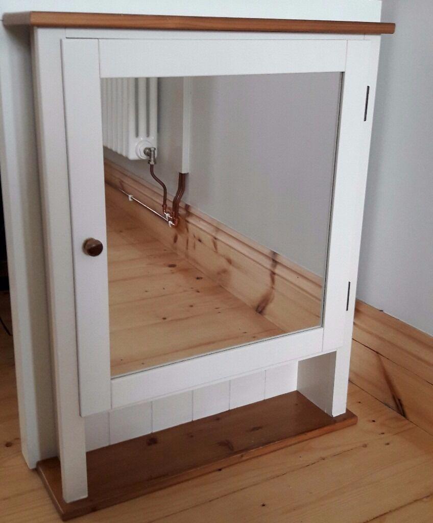 Ikea Dalviken wall mounted mirrored bathroom cabinet