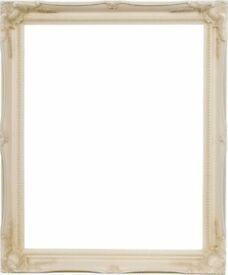 Vintage Wedding A2 Ornate Ivory Frame 16x20inch for Table Plans or Posters