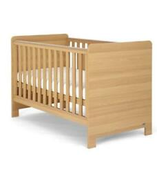 Mamas and papas cot bed and mattress