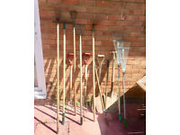 Job Lot of Assorted Garden Tools - Other garden items available
