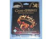 Game Of Thrones 'Westeros Intrigue' Card Game (new)