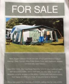 Bradcot Active awning size 995/1005