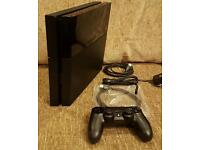 Playstation 4 500gb Black with games