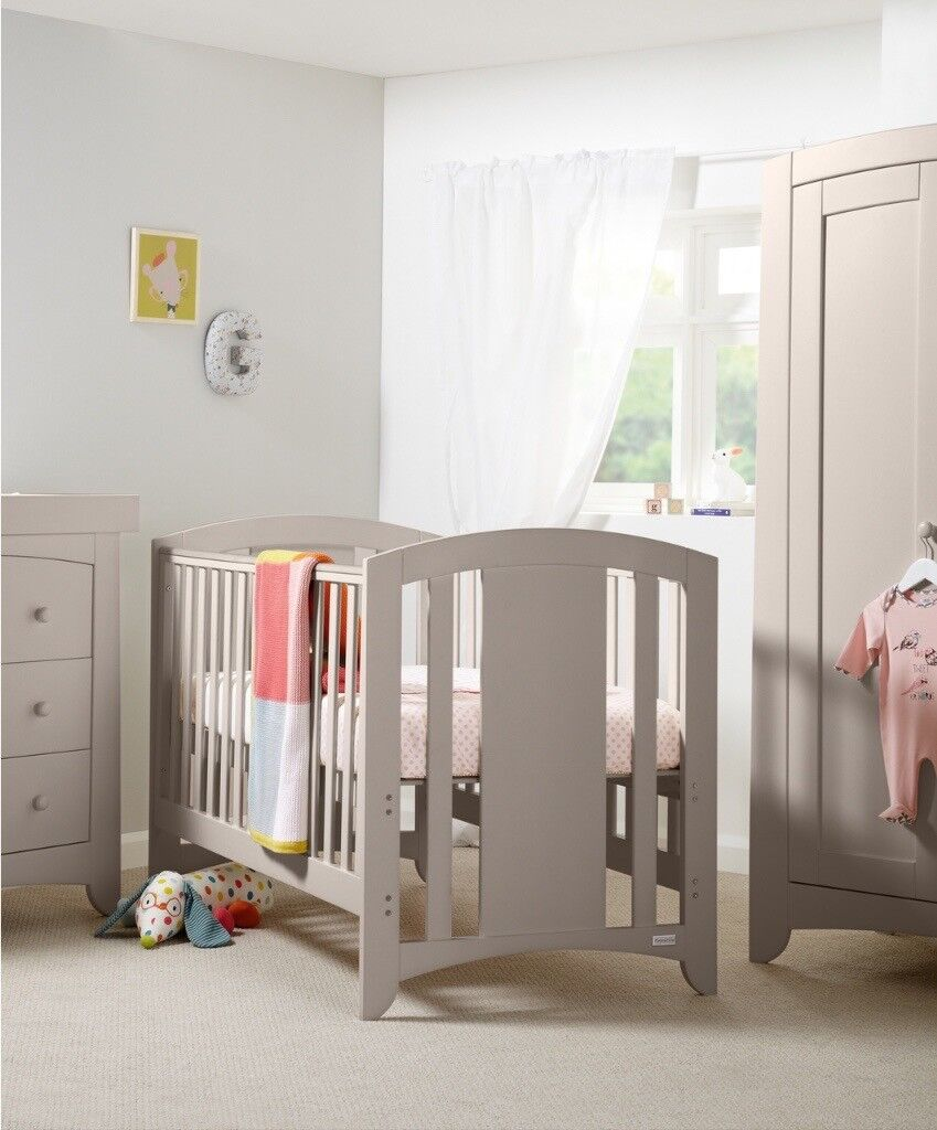 Mamas and Papas Harbour Nursery Furniture in Putty
