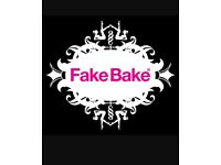 Fake Bake Spray Tanning