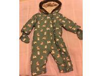 Baby Girls Snow Suit, size 12-18 months, John Lewis