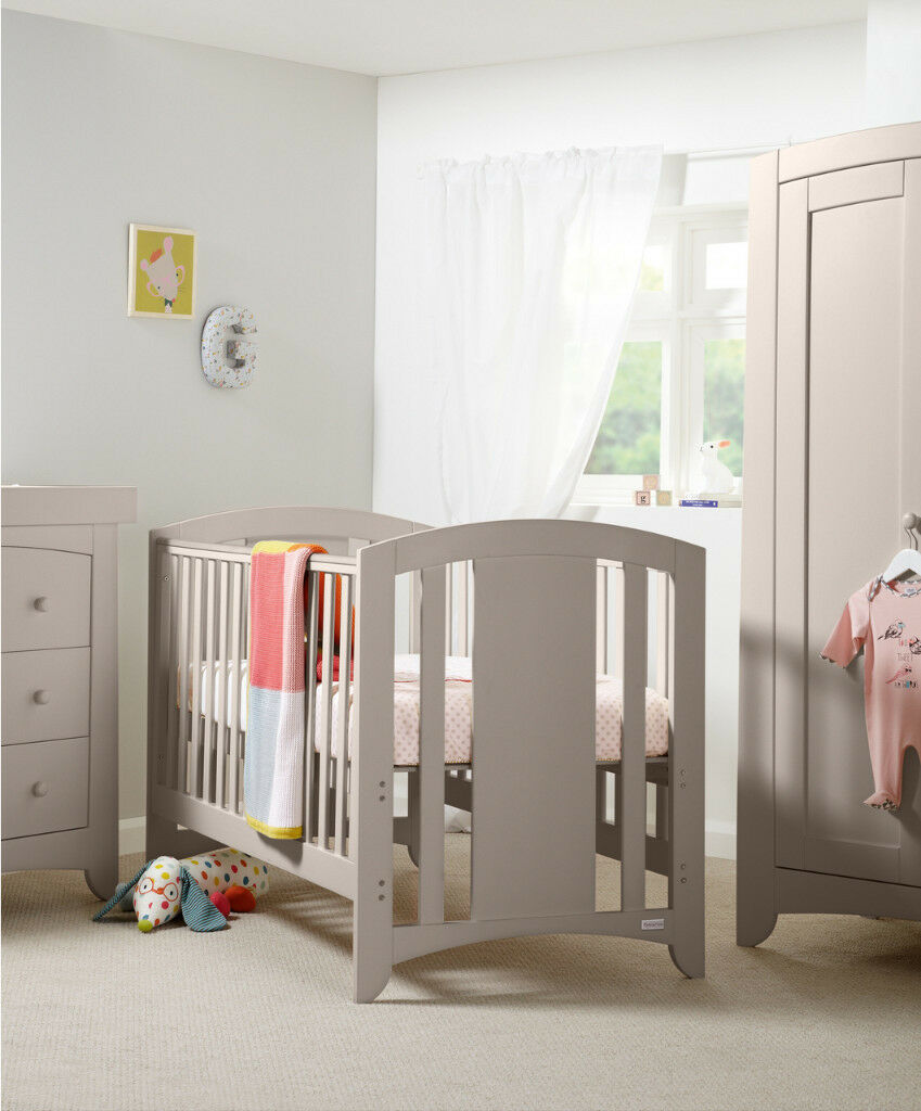 grey furniture nursery. Mamas And Papas Harbour Nursery Furniture Set In Putty (pale Grey) Great Condition Grey A
