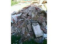 Bricks, used and rubble