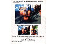 Black & Decker Pressure Washer