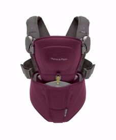 Mamas and papas morph baby carrier - plum pudding
