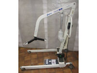 Oxford Major 175kg loop type Mobility hoist with new battery, charger & Sling