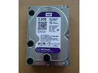 "2.0 TB Western Digital Hard Drive 3.5"" for spares"
