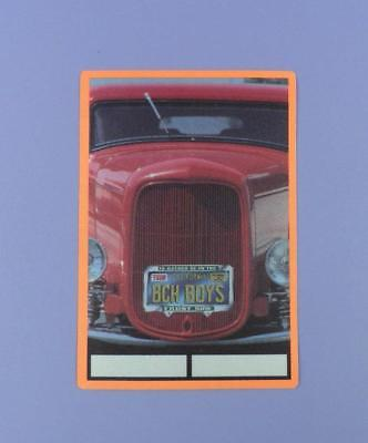 The Beach Boys Original Backstage Pass 1999 Unused Stock