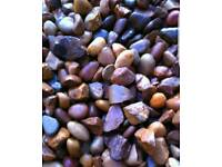 20MM GRAVEL/GARDEN GRAVEL/PEA GRAVEL/MULTICOLOURED GARDEN PEBBLES/1-10 TONNES/VERY NICE GRAVEL