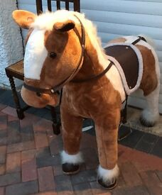 HORSE LARGE PLUSH 39 INCHES HIGH 42INCHES LONG