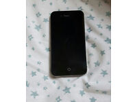 IPHONE 4S WITH BOX AND CHARGER