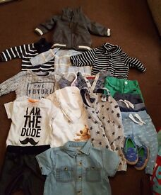 Baby boys clothes 3-6 months river island next mothercare etc