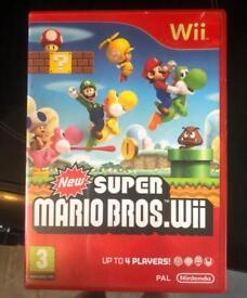 Nintendo wii mario game as new