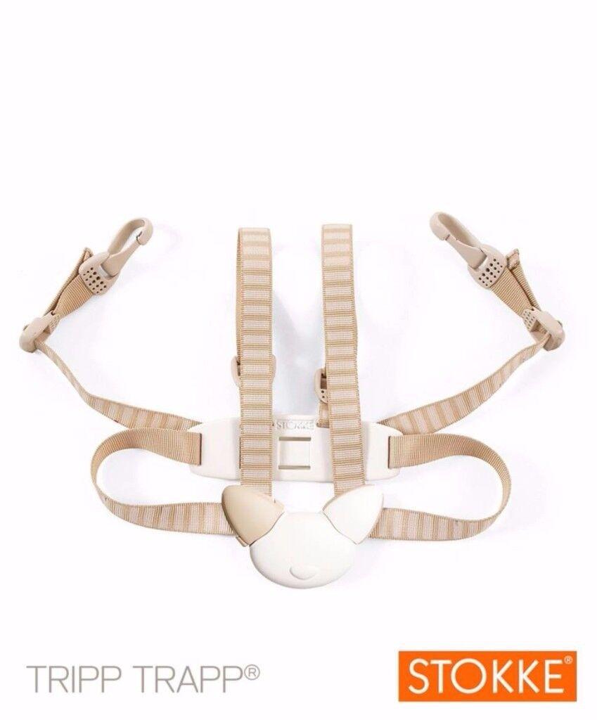 Stokke Tripp Trapp Harness - Beige Stripe