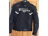 Furygan Motion Lab Titan Textile Jacket - Black / White