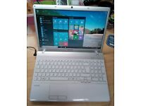 Sony Vaio Laptop, Dual Core, Windows 10, MS Works, 500gb Hard Drive, 4gb Memory, Wifi, Webcam, HDMI